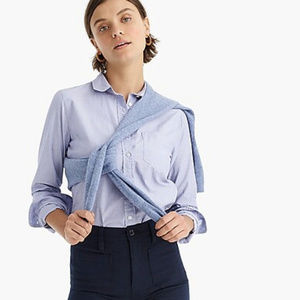 Classic fit end on end shirt